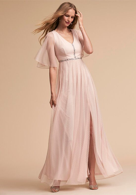 BHLDN (Bridesmaids) Rivoli Dress V-Neck Bridesmaid Dress