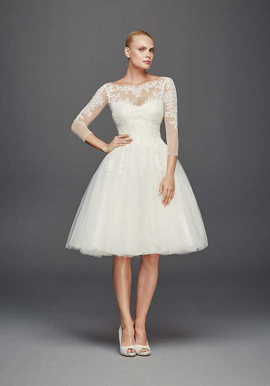 Truly Zac Posen at David's Bridal Truly Zac Posen Style ZP341642 Wedding Dress