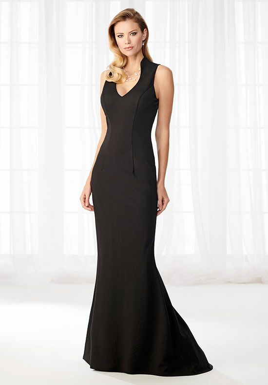 Cameron Blake 218625 Black Mother Of The Bride Dress