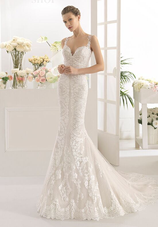 Aire Barcelona Cache Mermaid Wedding Dress