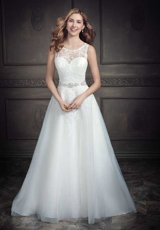 Kenneth Winston: Ella Rosa Collection BE3412 A-Line Wedding Dress
