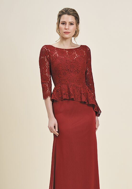 Jade J195064 Red Mother Of The Bride Dress