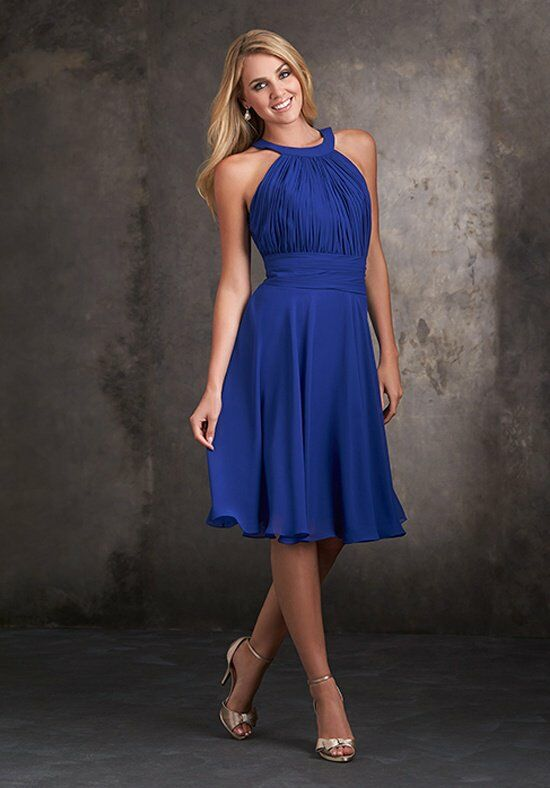 Allure Bridesmaids 1426 Halter Bridesmaid Dress