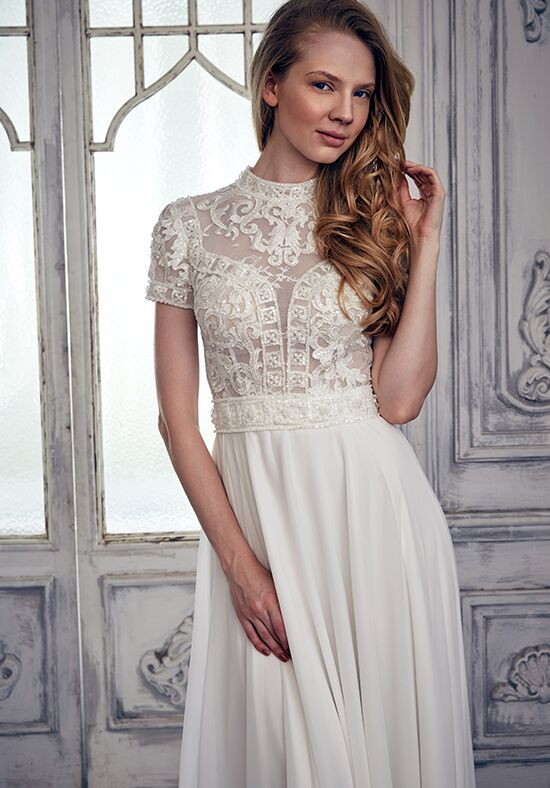 Calla Blanche 17105 Lola A-Line Wedding Dress