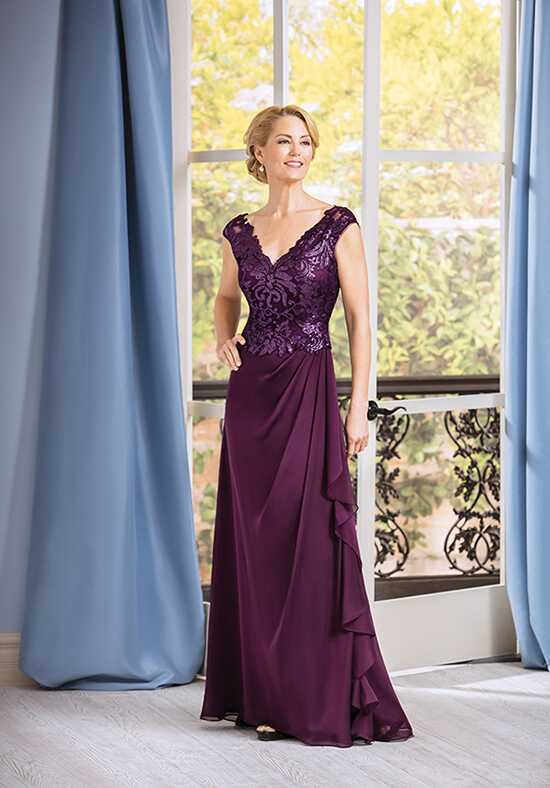 Jade J185069 Purple Mother Of The Bride Dress