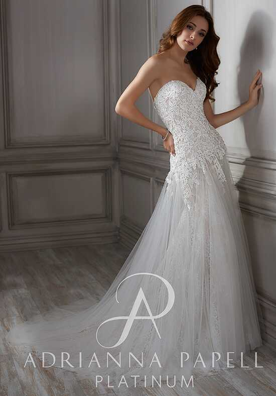 Adrianna Papell Platinum Lula A-Line Wedding Dress