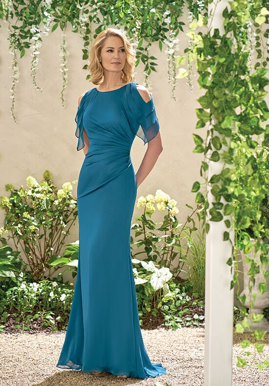 Jade J195004 Blue Mother Of The Bride Dress