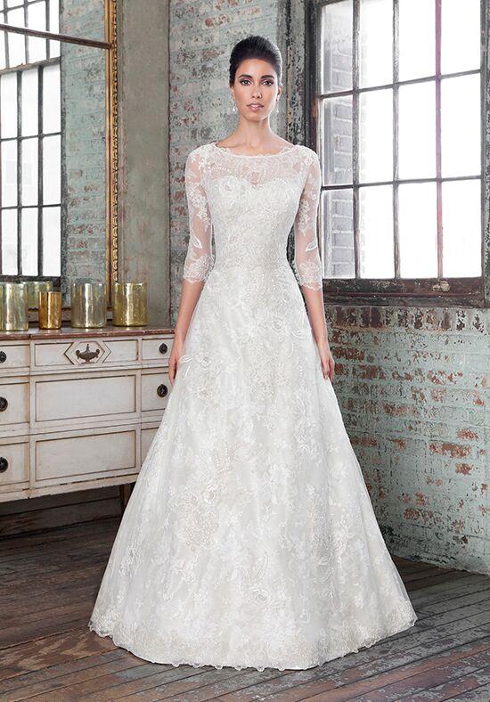 Justin Alexander Signature 9801 A Line Wedding Dress