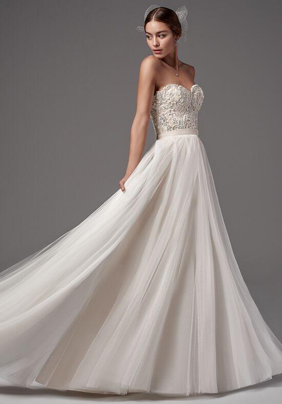Sottero And Midgley Carrington Bodice With Ashby Skirt A Line Wedding Dress