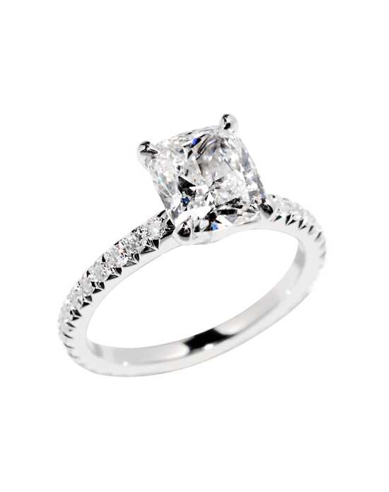 "Say ""Yes!"" in Platinum Classic Round Cut Engagement Ring"