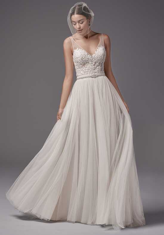 Sottero and Midgley Nakara bodysuit with Ashby skirt A-Line Wedding Dress