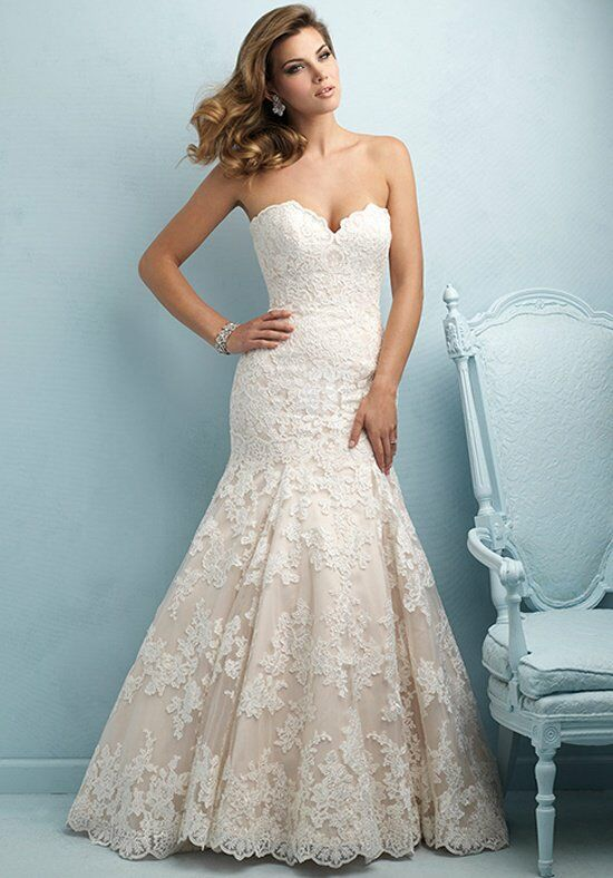Allure Bridals 9215 Mermaid Wedding Dress