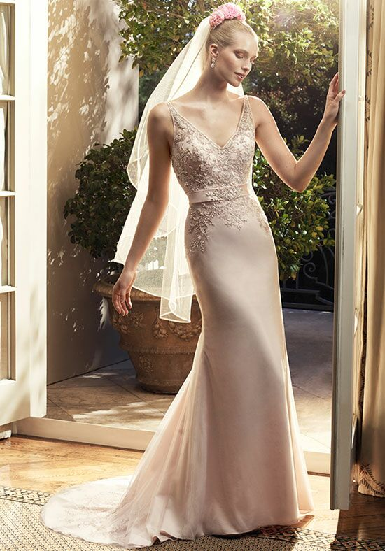 Casablanca Bridal 2209 Sheath Wedding Dress