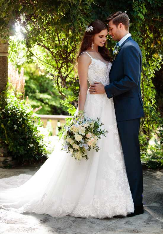 Essense of Australia D2230 A-Line Wedding Dress