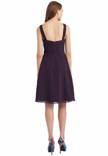 Bill Levkoff 1106 V-Neck Bridesmaid Dress