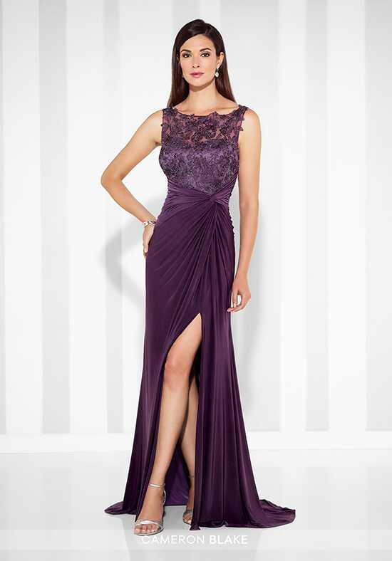 Cameron Blake 117613 Purple Mother Of The Bride Dress