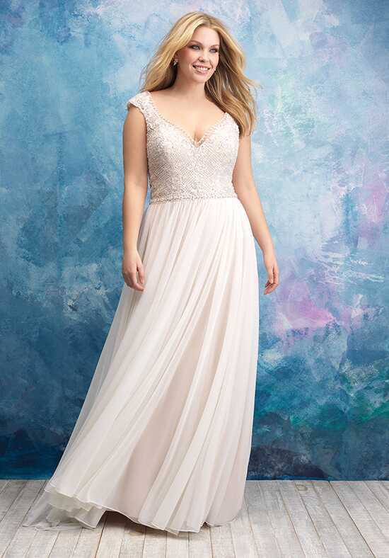 Allure Women W437 A-Line Wedding Dress