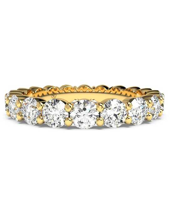 Ritani Women's Slim Round-Cut Diamond Prong-Set Eternity Band - in 18kt Yellow Gold - (2.30 CTW) Gold Wedding Ring