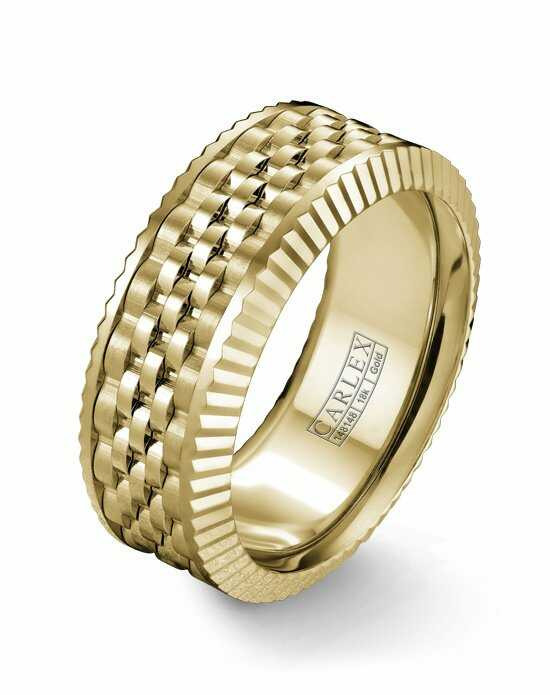 Carlex CX3-0023YYY Gold Wedding Ring