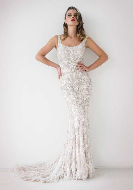 Stephen Yearick KSY163 Sheath Wedding Dress