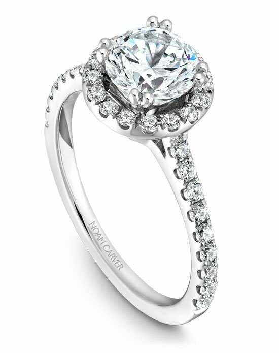 Noam Carver B007-01WS-100A Engagement Ring photo
