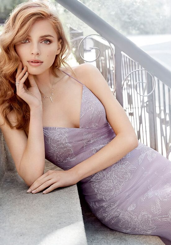 Hayley Paige Occasions 5719 V-Neck Bridesmaid Dress