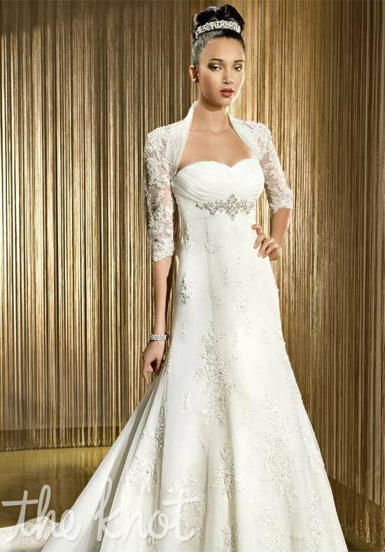 Demetrios 1413 A-Line Wedding Dress