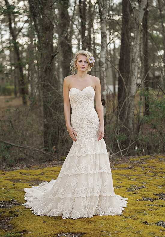 Lillian West 6465 A-Line Wedding Dress
