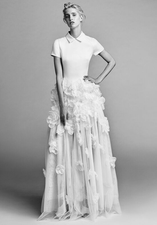 Viktor&Rolf Mariage Flower cloud shirt dress Wedding Dress - The Knot