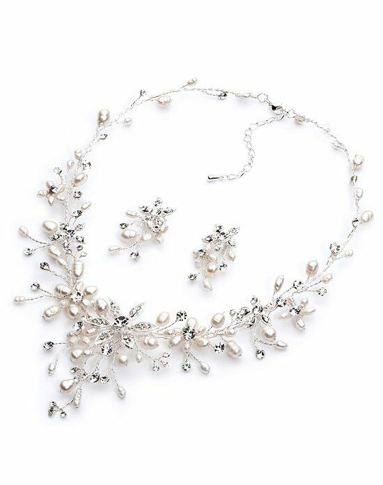 USABride Romance Freshwater Pearl Jewelry Set JS-1625 Wedding Necklace photo