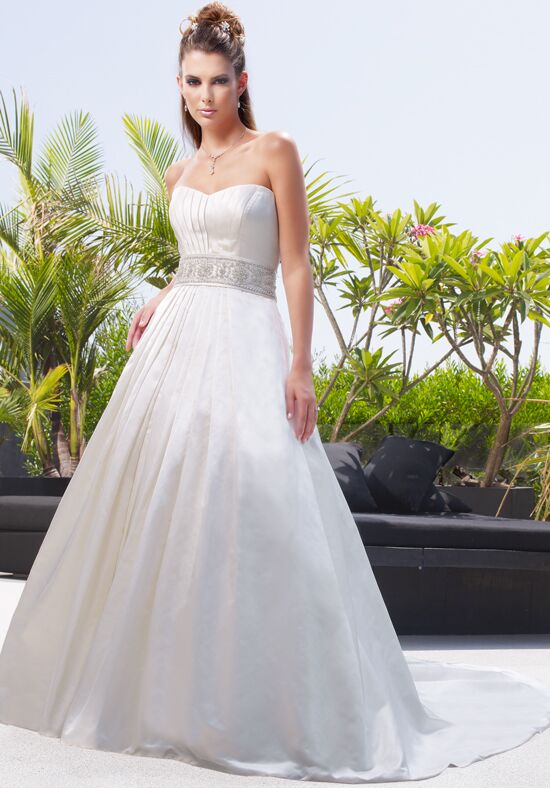 Amaré Couture by Crystal Richard B010 A-Line Wedding Dress