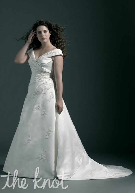 Sincerity Bridal Plus 4528 A-Line Wedding Dress