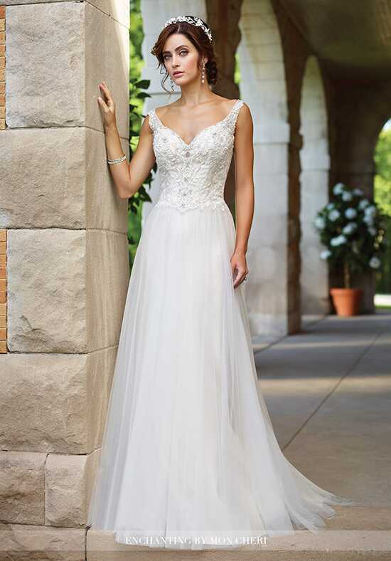 Enchanting by Mon Cheri 117184 A-Line Wedding Dress