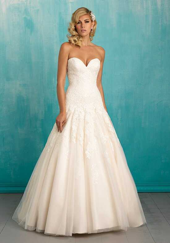 Allure Bridals 9314 A-Line Wedding Dress