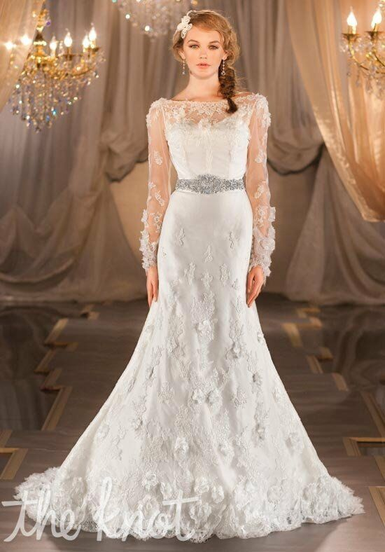 Martina Liana 402 Mermaid Wedding Dress