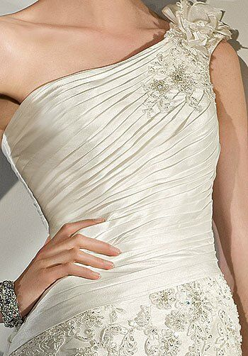 Demetrios 2852 Mermaid Wedding Dress