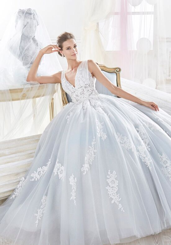 Nicole Collection 2018 NIAB18105 Ball Gown Wedding Dress