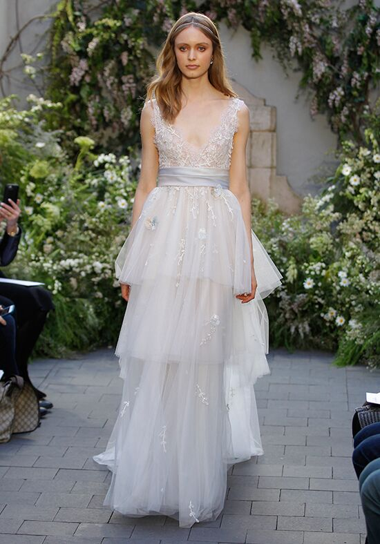 Monique Lhuillier Coralie A-Line Wedding Dress