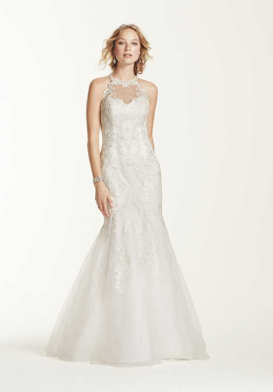 David's Bridal Jewel Style WG3735 Mermaid Wedding Dress
