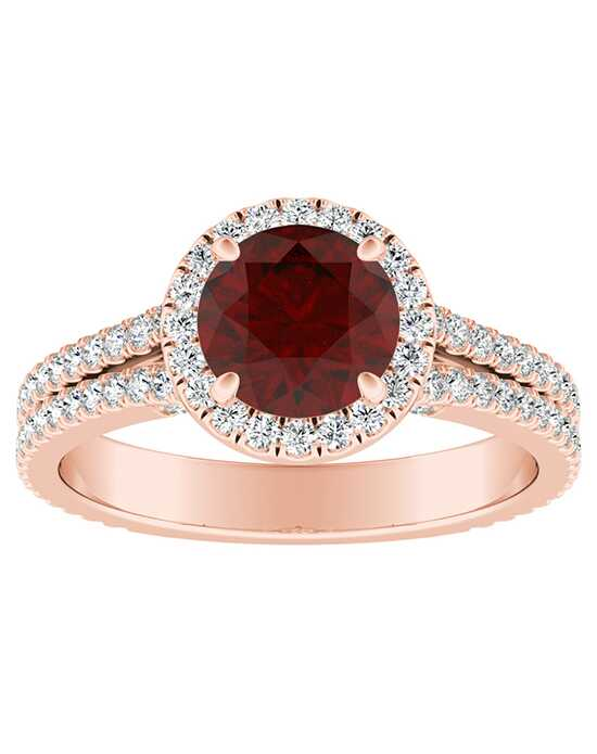 DiamondWish.com Elegant Round Cut Engagement Ring
