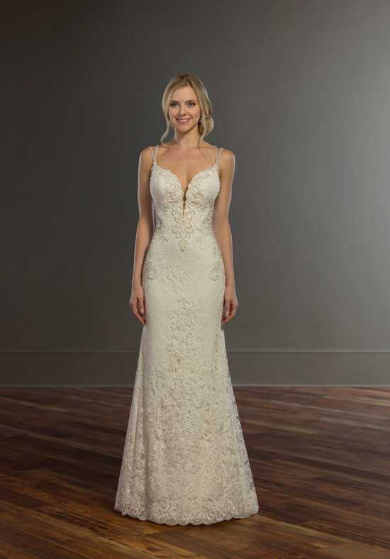 Martina Liana 959 Sheath Wedding Dress
