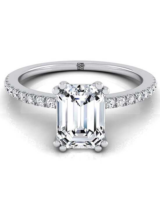 RockHer Classic Emerald Cut Engagement Ring