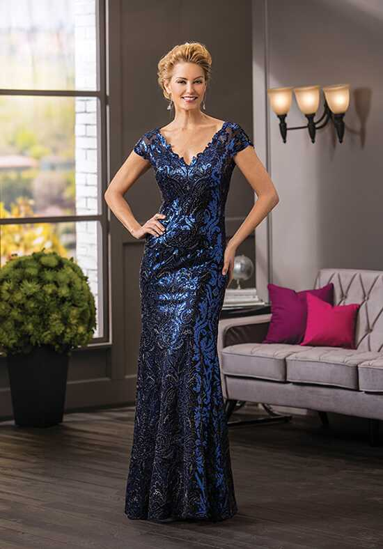 Jade Couture K188063 Blue Mother Of The Bride Dress