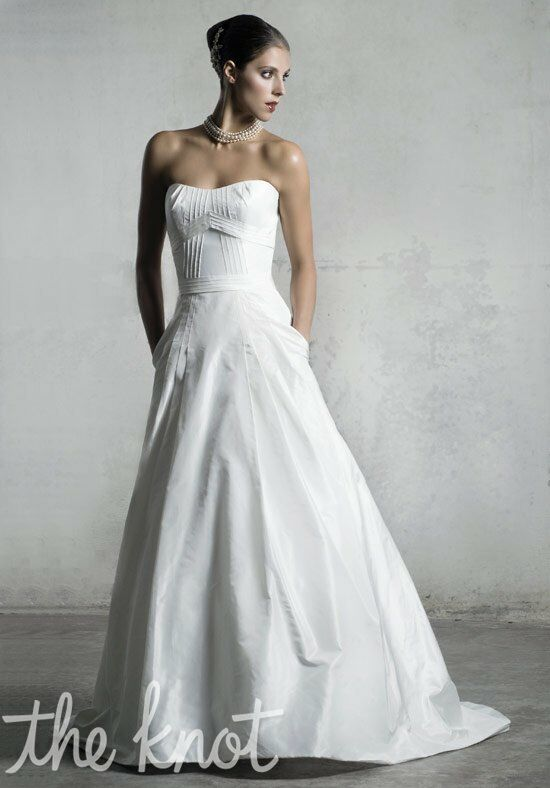 Anne Barge LF161 A-Line Wedding Dress
