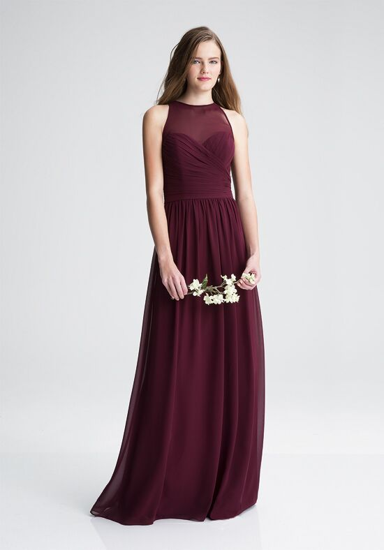 Bill Levkoff 1406 Illusion Bridesmaid Dress