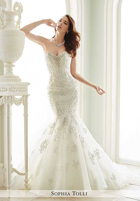 Sophia Tolli Y21664 Vittoria Mermaid Wedding Dress