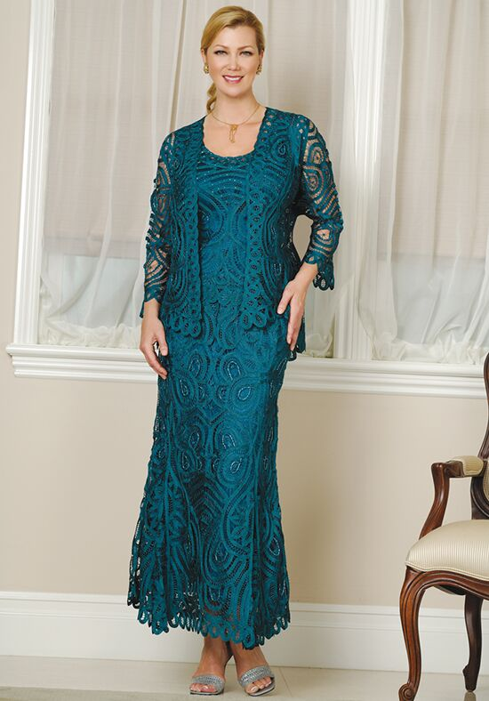 Soulmates D7051 Blue Mother Of The Bride Dress