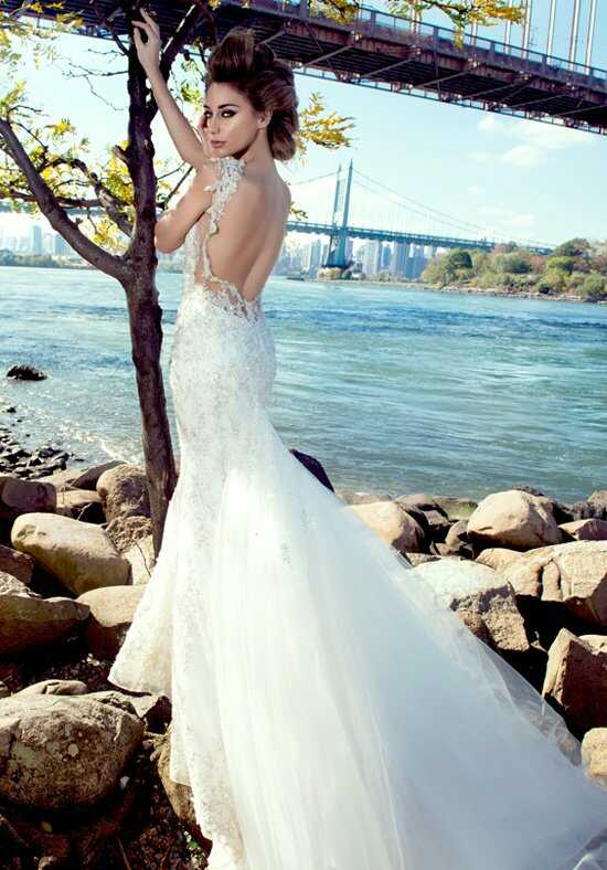Stephen Yearick KSY90 Sheath Wedding Dress