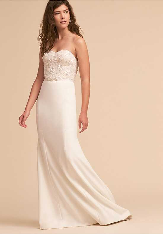 BHLDN Amanda Gown Sheath Wedding Dress