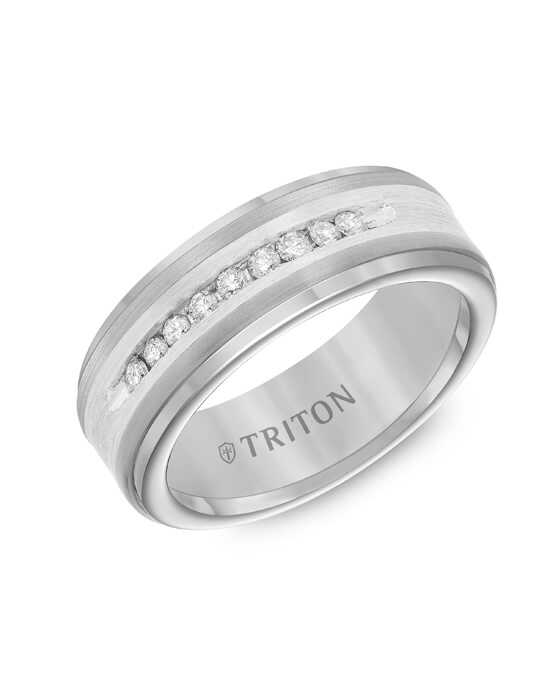 Triton 21-2218SC Tungsten Wedding Ring